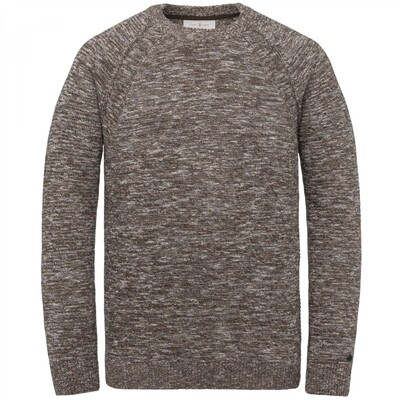 Slim Fit Cotton Slub Mouline Sweater CKW215308-8232