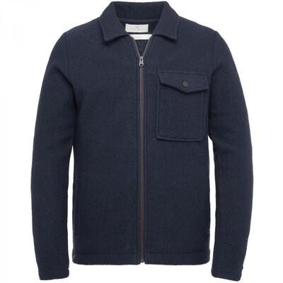 Boiled Wool Shirt Jacket CKC215350-5073