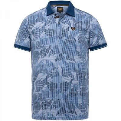 Jersey Allover Printed Polo PPSS215877-5056