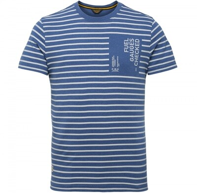 PME Legend   Short Sleeve R-Neck Y/D Striped Jersey PTSS215572-590