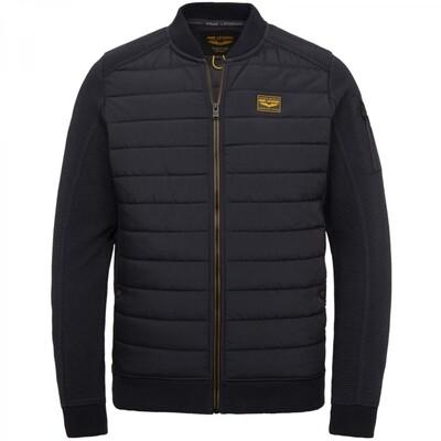 Ottoman Mixed Padded Nylon Zip Jacket PSW215419-5288
