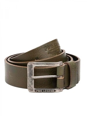 PME Legend | Leather Belt Italian Full Grain Leather With Embossed Effect PBE215203-6446
