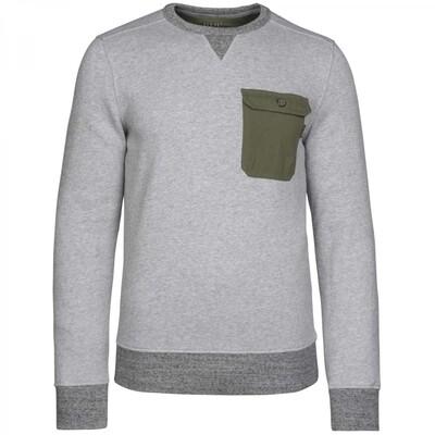 Brushed Fleece Inside Long Sleeve R-Neck PSW215422-960