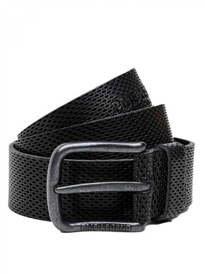 Leather Belt Italian Full Grain Leather With Embossed Effect PBE215201-999