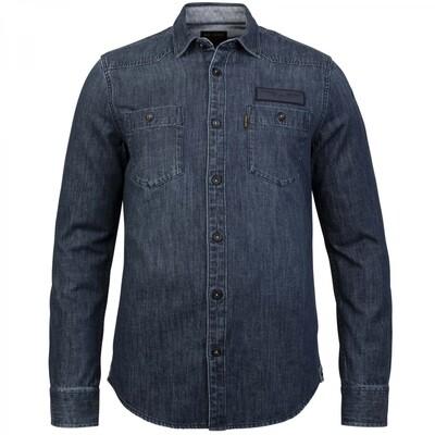 Long Sleeve Shirt Denim Fabric PSI216227-590