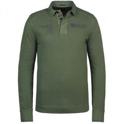 Pique Long Sleeve Polo PPS215831-6219