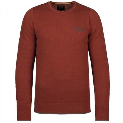 R-Neck Cotton Knit PKW216300-3048