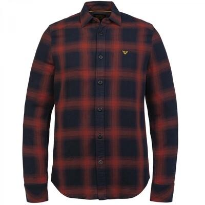 Sleeve Shirt Twill CheckPSI216203-3048