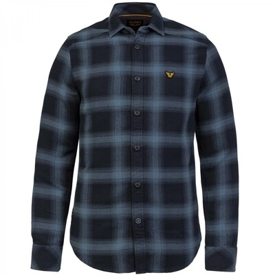 Long Sleeve Shirt Twill Check PSI216203 Copen Blue
