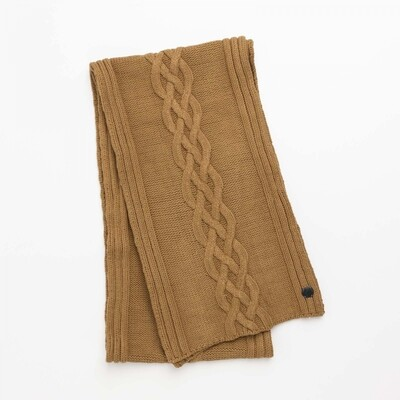 Knitted Scarf CAC216101-8197