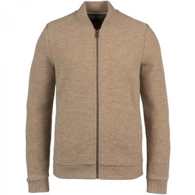 Zip Jacket Boiled Wool CKC216354-8092