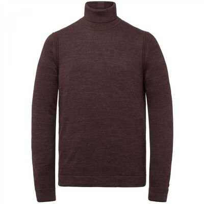 Roll Neck Cotton Heather Plated CKW216322-8175