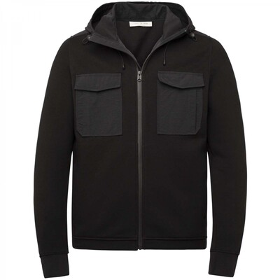 Hooded Cotton Interlock CSW216408-999