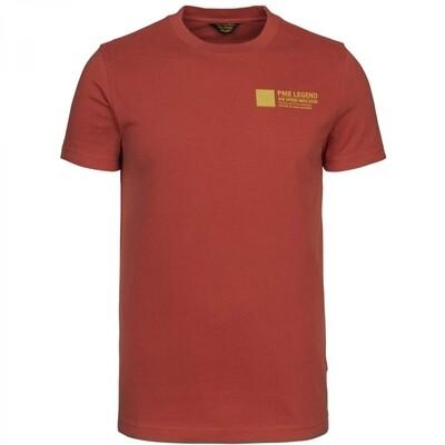 Short Sleeve R-Neck Peach Heavy Jersey PTSS216571 Ketchup