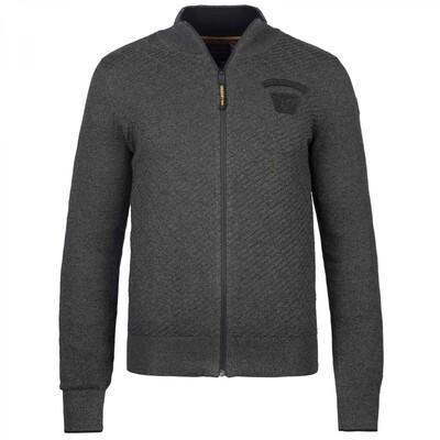 Zip jacket Cotton Knit PKC216350-996