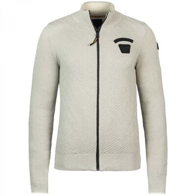 Zip jacket Cotton Knit PKC216350-7013