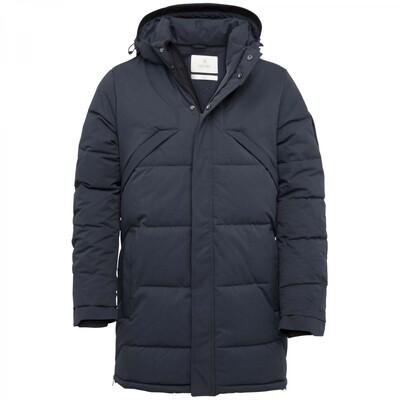 Long Jacket Mech Melange Brawler Parka CJA216144-5287