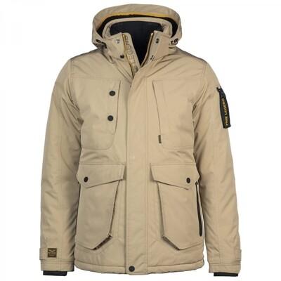 Semi Long Jacket AIRCOBRA ICON Suelon + Soft Shell PJA216114-8013