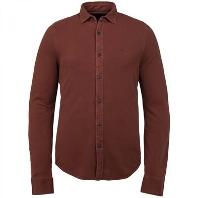 Long Sleeve Shirt Garment Dye Pique PSI216209-3249