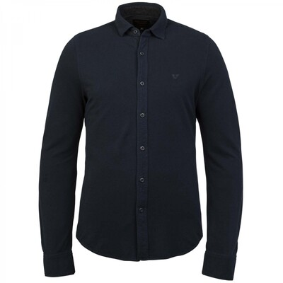 Long Sleeve Shirt Garment Dye Pique PSI216209-5288