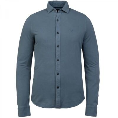 Long Sleeve Shirt Garment Dye Pique PSI216209-5132
