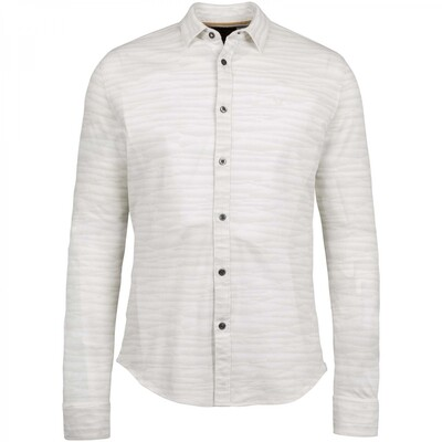 Long Sleeve Shirt Pique With All-Over Print PSI216217-7003