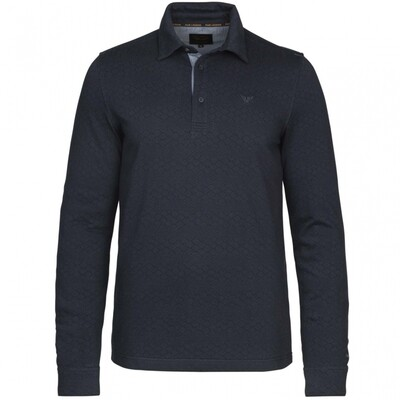 Long Sleeve Polo Jacquard Jersey PPS216838-5288