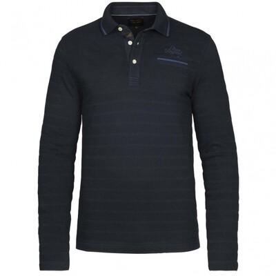 Long Sleeve Polo Jersey Jacquard PPS215832-5288