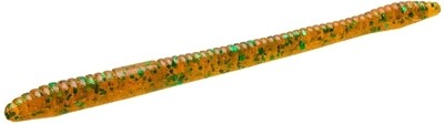 """Zoom 004017-SP Finesse Worm , 4 1/2"""", 20Pk, Gourd Green"""