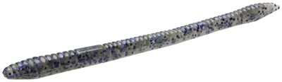 "Zoom 004010-SP Finesse Worm , 4 1/2"", 20Pk, Smoke Purple"