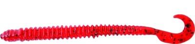 "Zoom 017084-SP Dead Ringer Finesse Worm, 4"", 20Pk, Tomato"