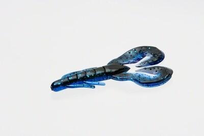"Zoom 089100 Super Speed Craw, 4"" 8Pk, Black Sapphire"