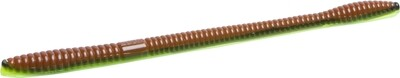 """Zoom 132372 Z-3 Trick Worm, 6 1/2"""" 10Pk, Bold Bluegill"""