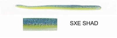 """Roboworm ST-MY3H Straight Tail Worm 4 .5"""", SXE Shad, 10/Pack"""