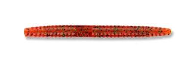 "Yamamoto 9S-10-196 Senko Worm, 4"" 10pk, Pumpkin (Orange) with Large Black"