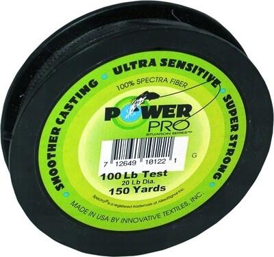 Power Pro  Spectra Braided Fishing Line 100Lb 150 Yd Green