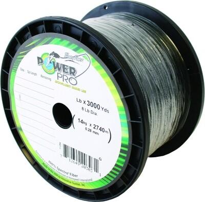 Power Pro  Spectra Braided Fishing Line 65lb 3000 Yd Green