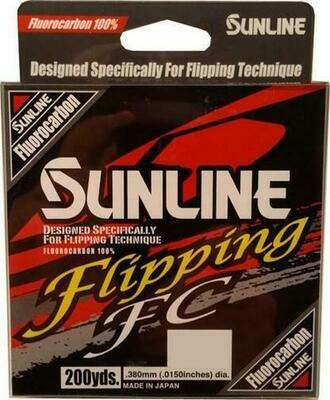 Sunline Flipping FC  20 lb - Clear/Hi Vis Yellow