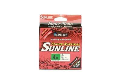 Sunline Super Natural 10 lb - Jungle Green -330 yd