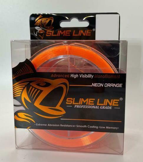 Slime Line 30lb Neon Orange 325yds