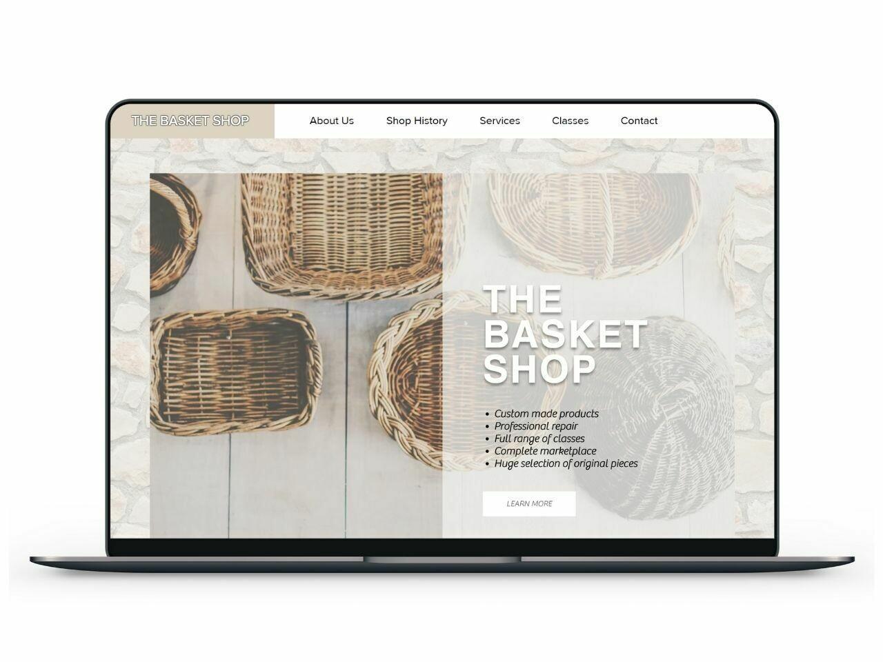 Basket Shop Template