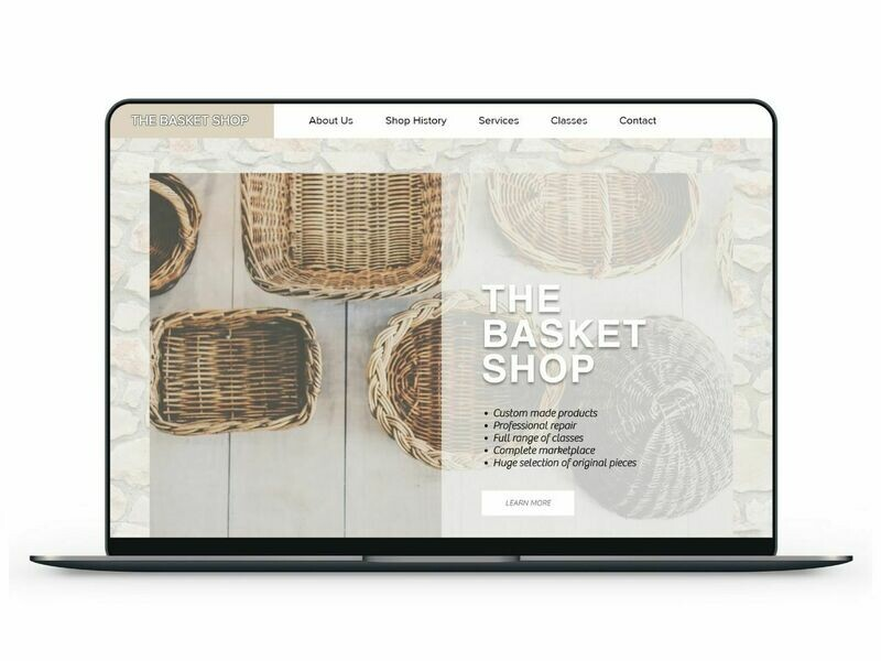 Basket Shop Template