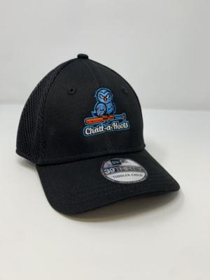 New Era Youth Stretch Logo Mesh Cap