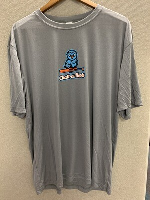 Grey SS Performance Tee - Team Issue