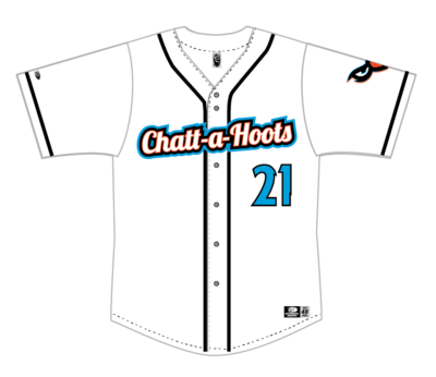Adult Custom Authentic White Jersey