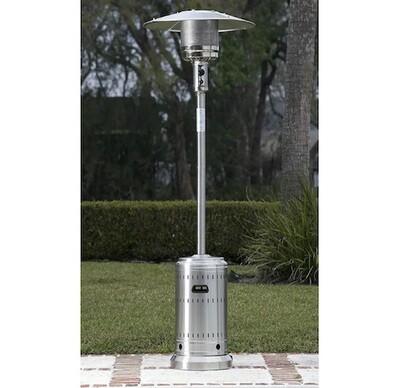 Tall Mushroom  Heater (Stainless Steel)