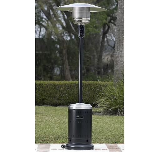 Tall Mushroom Heater (Black)