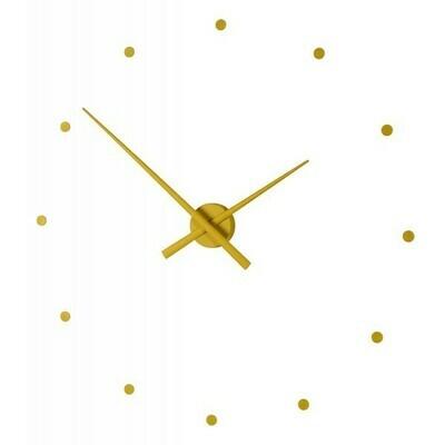 """Часы Nomon OJ MUSTARD(""""горчичный""""), d=80см"""