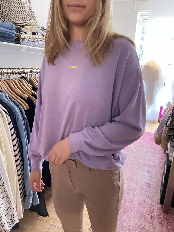 Liv Bergen Sweatshirt back lila