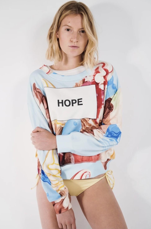 Sweatshirt Hope von Liv Bergen